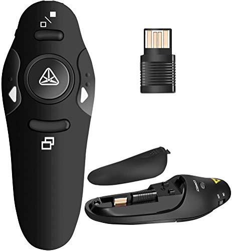 BEBONCOOL RF 2.4GHz Wireless Presenter Remote Presentation USB Control PowerPoint PPT...