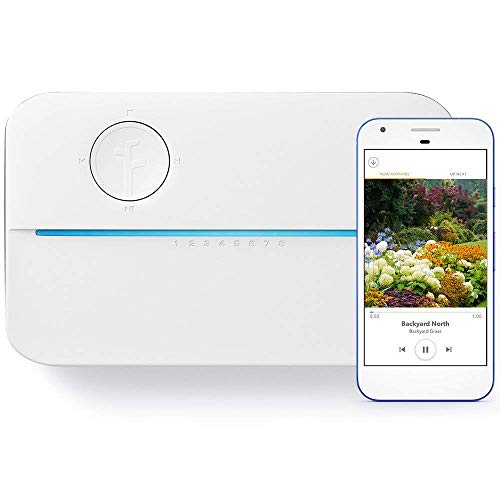 Rachio 3 Smart Sprinkler Controller, 8 Zone 3rd Generation, Alexa and Apple HomeKit...