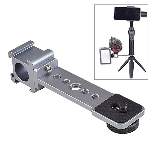 Gimbal Cold Shoe Extension Mount Mic Led Light Stand Triple Hot Bracket for DJI OM4 OSMO...
