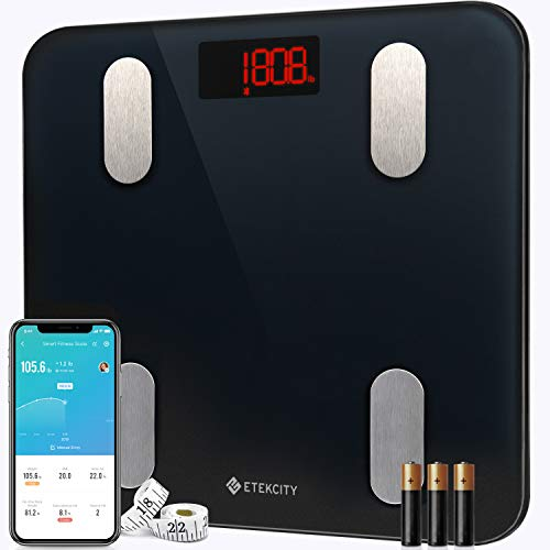 Etekcity Scales for Body Weight Bathroom Digital Weight Scale for Body Fat, Smart...
