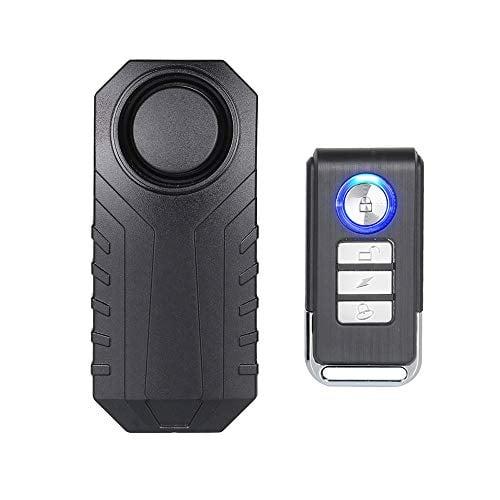 Mengshen Bicycle Alarm, Wireless Anti-Theft Burglar Security Alarm for Bike Motorcycle Car...