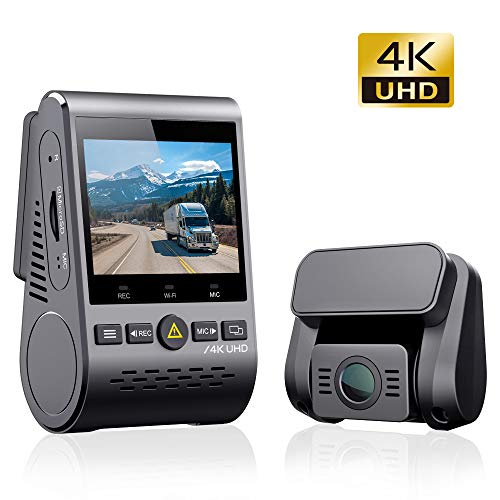 VIOFO A129 Pro Duo 4K Dual Dash Cam 3840 x 2160P Ultra HD 4K Front and 1080P...