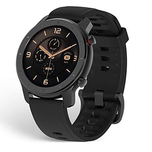 Amazfit GTR Smartwatch, Classic Design, 24/7 Heart Rate Monitor, Music Control, GPS,...