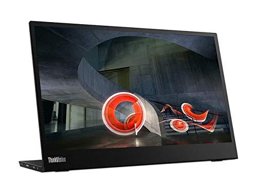 Lenovo ThinkVision M14 14' Full HD 1920x1080 IPS Monitor - 300 Nit 6ms 2xUSB Type-C Ports...