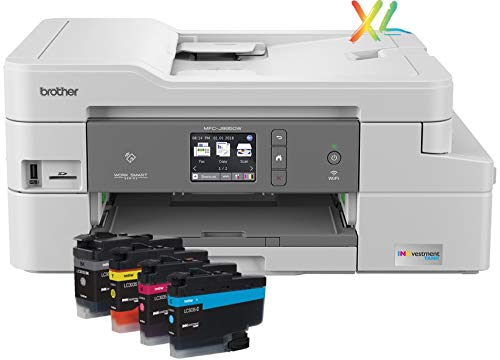 Brother INKvestmentTank Inkjet Printer, MFC-J995DW XL, Extended Print, Color All-in-One...