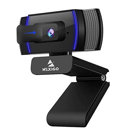 2021 AutoFocus 1080p Webcam with Stereo Microphone and Privacy Cover, NexiGo N930AF FHD...