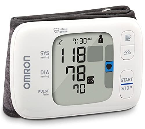 OMRON Gold Blood Pressure Monitor, Portable Wireless Wrist Monitor, Digital Bluetooth...