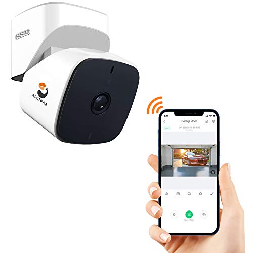 Alcidae Garager 2, Smart WiFi Garage Control,Integrated Security Camera,View and...