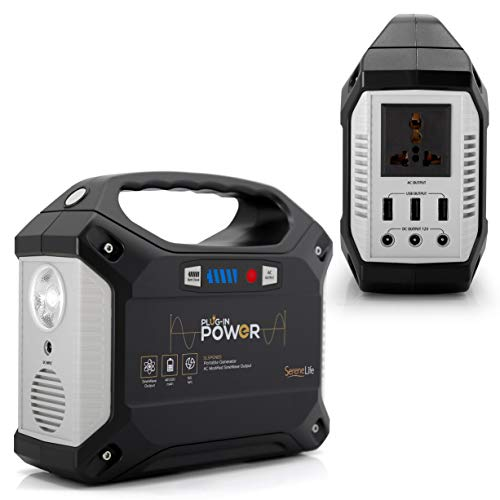 SereneLife 155W portable Power Station
