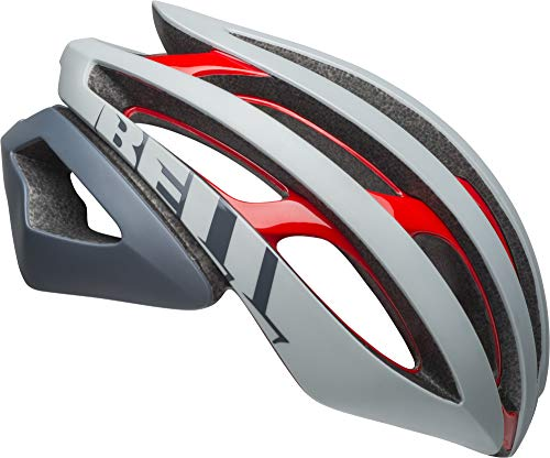 Bell Z20 MIPS Adult Bike Helmet - Remix Matte/Gloss Gray/Crimson - Small (52–56 cm)