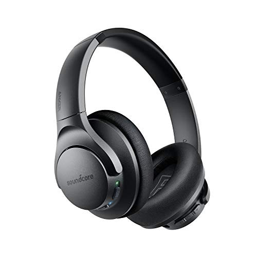 Anker Soundcore Life Q20 Hybrid Active Noise Cancelling Headphones, Wireless Over Ear...