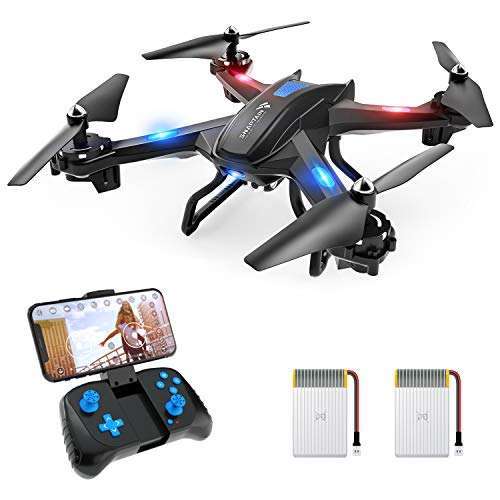 SNAPTAIN S5C WiFi FPV Drone with 2K Camera,Voice Control, Wide-Angle Live Video RC...