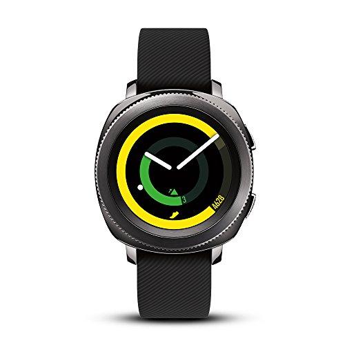 SAMSUNG Gear Sport Smartwatch (Bluetooth), Black, SM-R600NZKAXAR – US Version with...