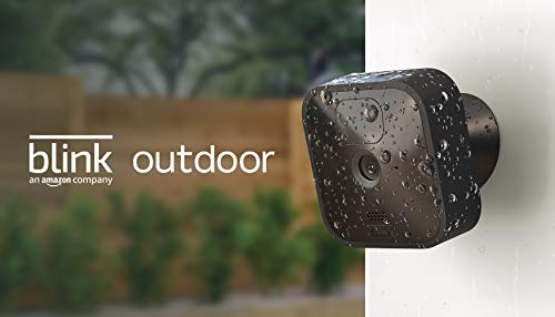 Blink Outdoor – wireless, weather-resistant HD security camera with two-year battery...