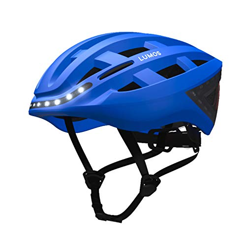LUMOS Kickstart E-Bike Smart Helmet (Cobalt Blue) | Bike Accessories | Adult: Men, Women |...