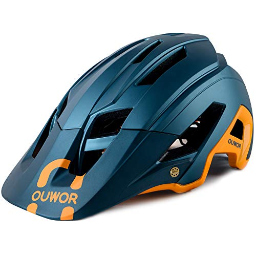 Mountain Bike MTB Helmet, CPSC Certified, Removable Visor, for Adult Men Women Youth...