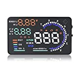 Eoncore New Universal 5.5' Car A8 HUD Head Up Display with OBD2 Interface Plug &...