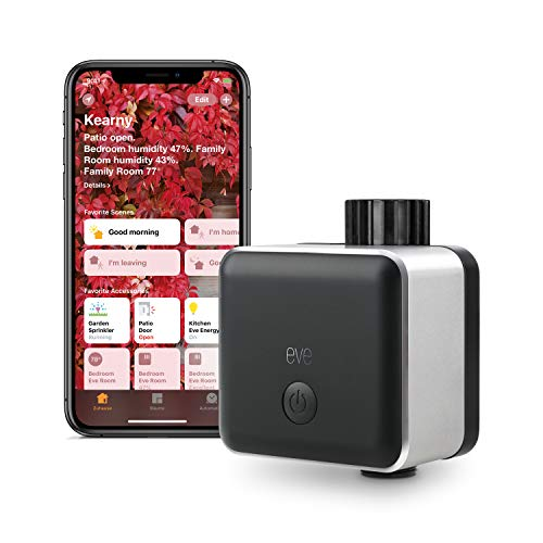 Eve Aqua - Smart Water Controller for Home app or Siri, irrigate Automatically with...