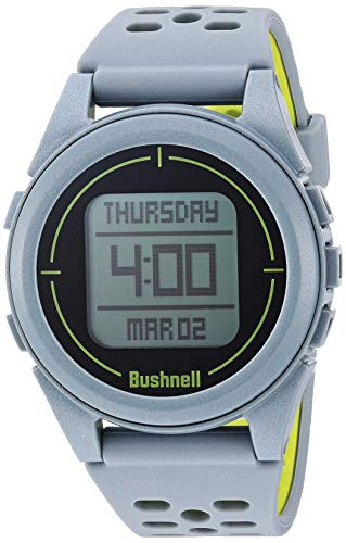 Bushnell unisex-adult Neo Ion 2 Golf GPS Watch, Silver/Green, Large