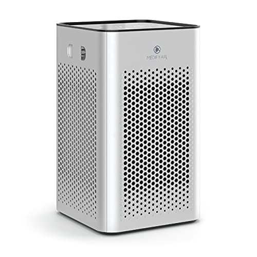 Medify MA-25 Air Purifier with H13 True HEPA Filter   500 sq ft Coverage   for Smoke,...