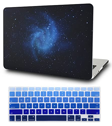 KECC Laptop Case Compatible with MacBook Pro 15' (2019/2018/2017/2016) w/Keyboard Cover...
