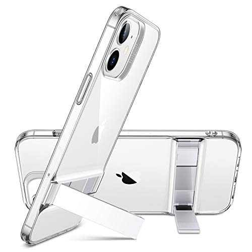 ESR Metal Kickstand Case Compatible with iPhone 12 Mini 5.4-Inch [Patented Two-Way Stand]...