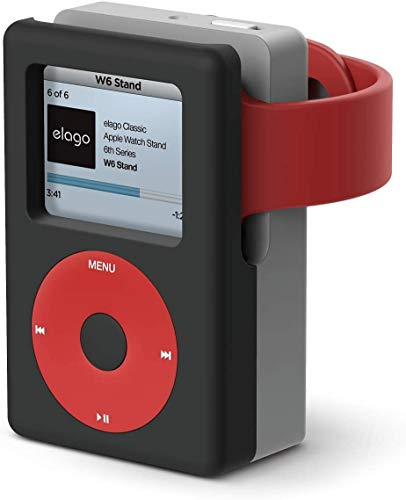 Watch Charger with Vintage Media Player Design