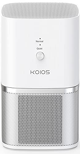 KOIOS Air Purifier for Home, Small Air Purifiers with True HEPA Filter, Compact Desktop...