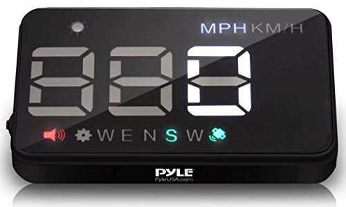 Pyle 3.5'' Car HUD - Head-Up Display Multi-Color Windshield Screen Projector Vehicle...