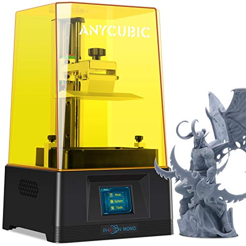 ANYCUBIC Photon Mono LCD 3D Printer, Fast Printing UV Photocuring Resin 3D Printer with...