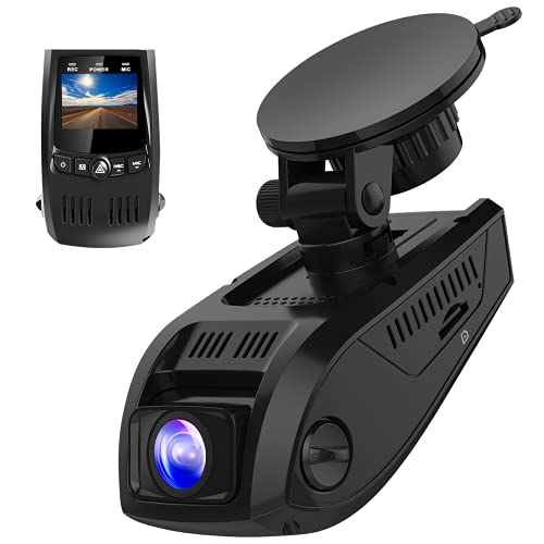 Pruveeo F5 Dash Cam 2021 Upgraded 1080P Support 128GB FHD 1920x1080P Dash Camera for Cars...