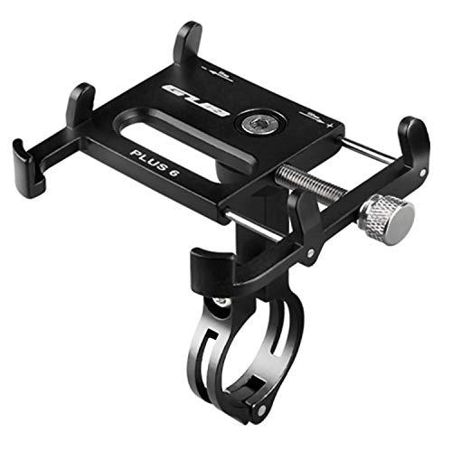 GUB Bicycle & Motorcycle Phone Mount, Aluminum Bike Phone Holder Mount with 360° Rotation...