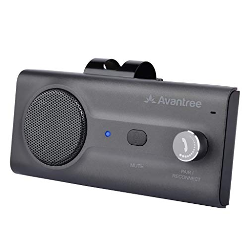 Avantree CK11 Hands Free Bluetooth 5.0 Car Kits, Loud Speakerphone, Support Siri Google...