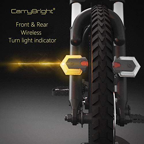 Bike Tail Light with Turn Signals-Wireless Remote Control Waterproof Bicycle Taillight-USB...