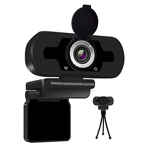 Anivia 1080p HD Webcam W8, USB Desktop Laptop Camera, Mini Plug and Play Video Calling...