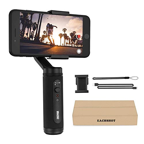 Gimbal Stabilizer for iPhone 11 Pro X XR XS Max Smartphone Vlog Youtuber Live Video Record...