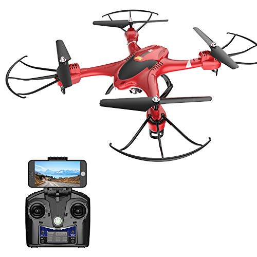Holy Stone HS200 FPV RC Drone with HD WiFi Camera Live Feed 2.4GHz 4CH 6-Axis Gyro...
