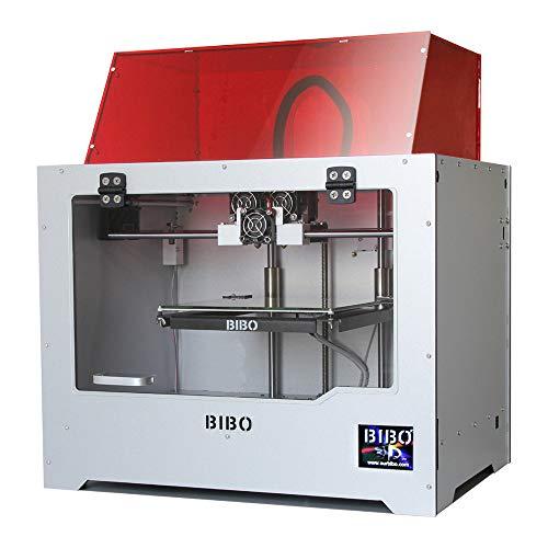 BIBO 3D Printer Dual Extruder Sturdy Frame WiFi Touch Screen Cut Printing Time in Half...