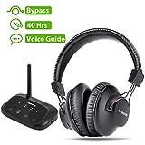 Avantree HT5009 Wireless Headphones for TV Watching w/Bluetooth Transmitter...