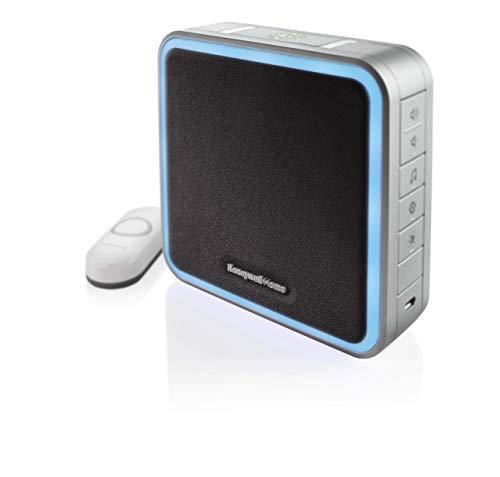 Honeywell Home RDWL917AX2000/E Doorbell Portable Wireless Doorbell & Push Button - 9...