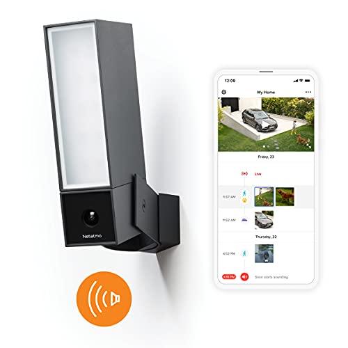 Security Camera Outdoor by Netatmo, Wireless Smart Security Camera, Built in 105 Decibal...
