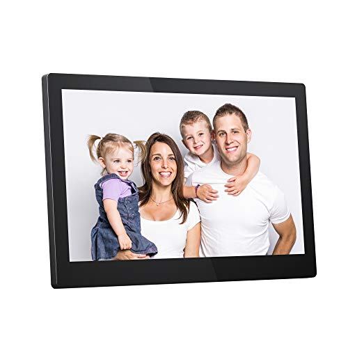 "Dragon Touch Classic 15 Digital Picture Frame, 15.6"" FHD Touch Screen WiFi Digital Photo..."