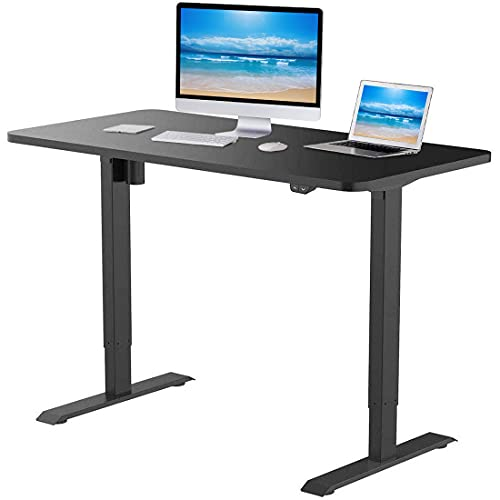 Flexispot Standing Desk 48 x 30 Inches Height Adjustable Desk Electric Sit Stand Desk Home...