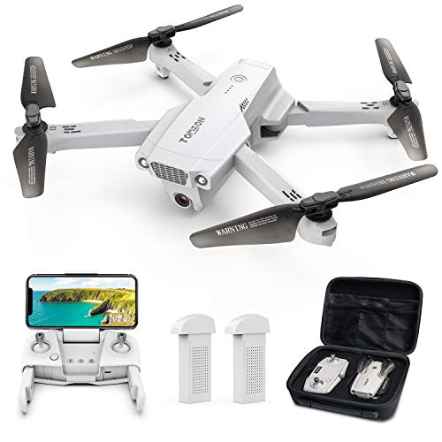 Tomzon D65 GPS Drone with Camera for Adults 4K UHD, Foldable FPV RC Quadcopter with Auto...