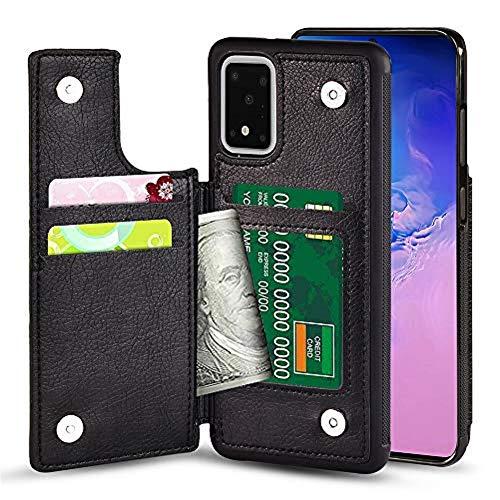 TGOOD Samsung Galaxy S20 Plus (6.7inch) 5G Wallet Case with Card Slot Holder Soft PU...