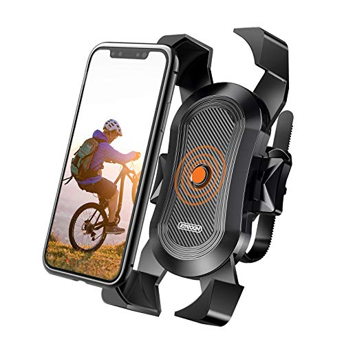 joyroom Bike Phone Mount, Secure Lock & Bicycle Cell Phone Holder for Mountain Bike...