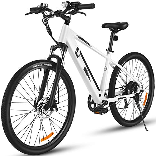 ANCHEER 27.5' Aluminum 700C Electric Bike, 350w Adults Electric Commuting Bicycle with...