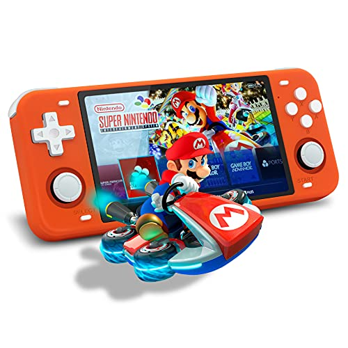 Handheld Game Console, Powkiddy RGB10 Max Video Game Console Handheld Game Systems , 5...