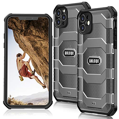 ANLCQC Compatible with iPhone 12 Case and iPhone 12 Pro Case (6.1- Inch), [Military Grade...