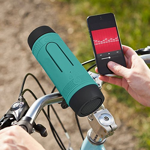 Bluetooth Bicycle Speaker Zealot S1 4000mAh Portable Bike Speakers Rechargeable Power Bank...